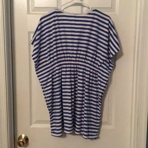 Old Navy Swim - 3/$15 Old Navy Striped Bathing Suit Cover Up Top